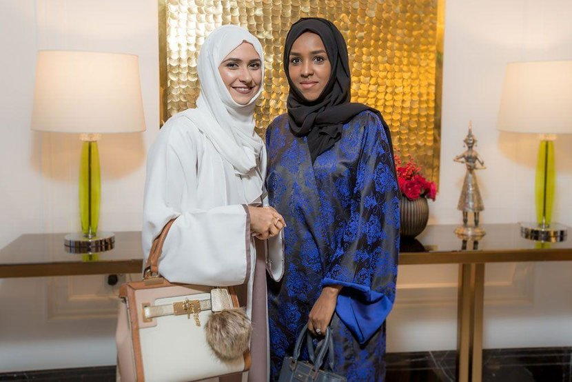 Zahra Lari and Hiba Meigag