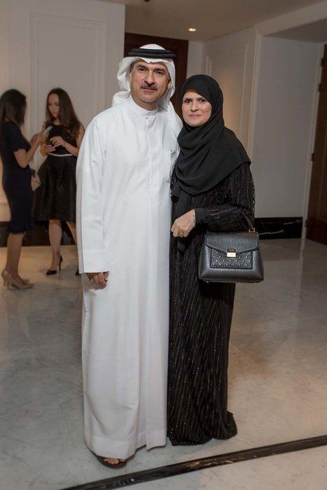 Fadhel Lari and Roquiya Cochran