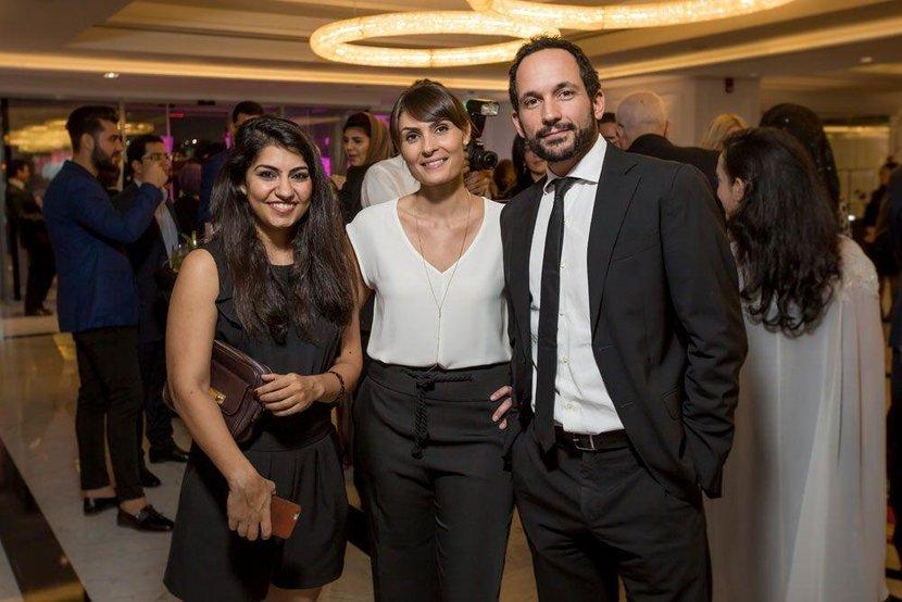 Leila Chouman, Raush Salhi and Luca Allam