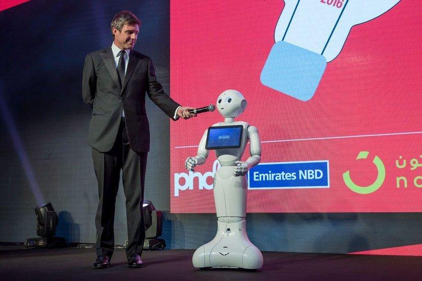 A speech from Pepper the Robot