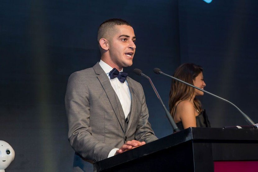 Esquire's Middle East Man of the Year 2015 - Chaker Khazaal