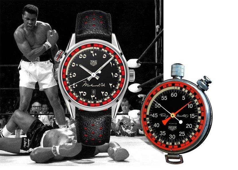 Tag Heuer, Muhammad Ali, Muhammad Ali Dead, TAG, Ring Master, Ringmaster, Timepiece, Limited edition, Arabic