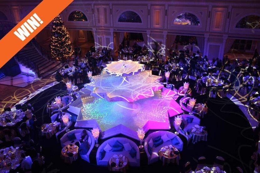 Competition, WIN!, Hope to win, Waldorf Astoria, New Year's Eve, Ras Al Khaimah, Waldorf Astoria Ras Al Khaimah, New Year's Eve Gala Experience