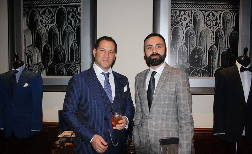 Esquire's Daniel Higgins and Michael Andrews of Michael Andrews Bespoke