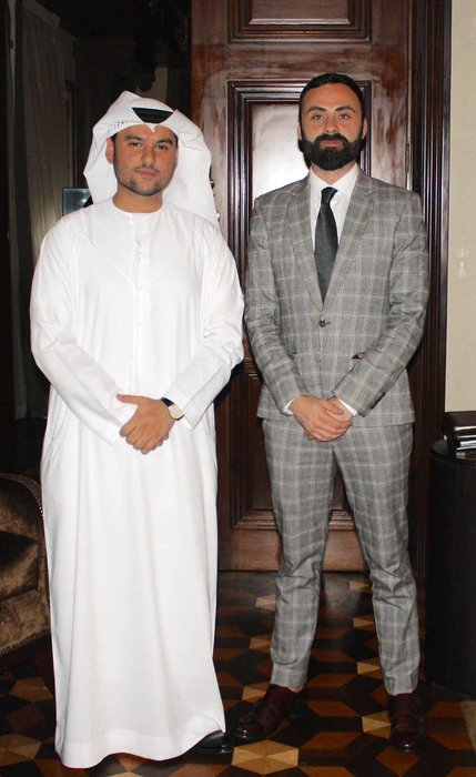 Esquire's Daniel Higgins and Adi Al Fardan of Vacheron Constantin