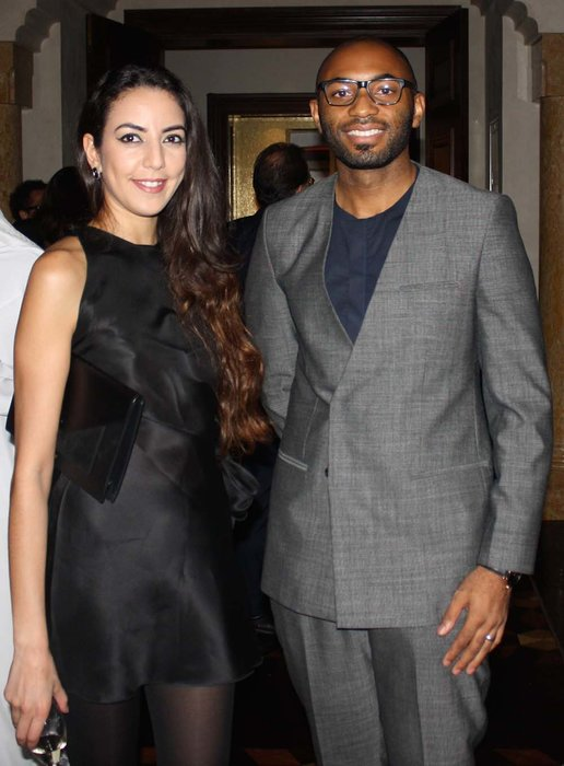 Mariam Mohsni and Anthony Caton