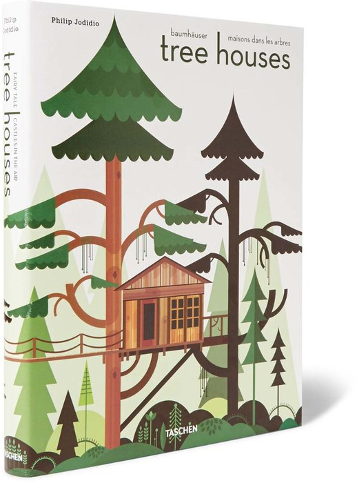 Tree Houses: Fairy Tale Castles in the Air Hardcover Taschen Book [Dhs170] - A coffee table must have for budding architects and construction enthusiasts, showing the best tree houses in the world, from romantic to modern designs. mrporter.com