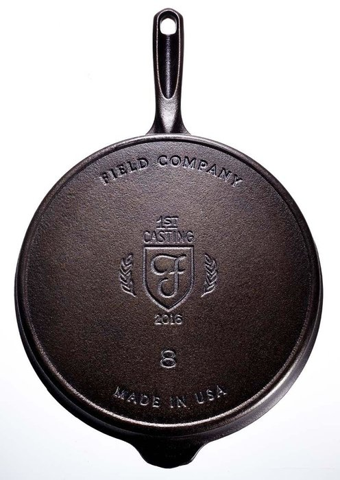 Field Skillet, Field Company, [Dhs370] - Cooking in a cast iron skillet often requires a week at the gym beforehand just to be able to lift it. This one weighs less than a 13-inch MacBook Pro so no excuse for ordering takeaway. fieldcompany.com