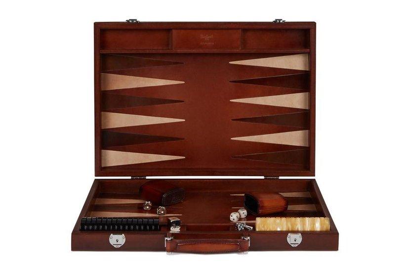 Berluti backgammon set