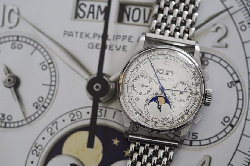 Patek Philippe Reference 1518, Holy grail, Grail watch, Auction, Vintage watches, Vintage, Timepiece, Watch, Zenith El Primero A386, A. Lange & Söhne, Lange & Söhne, Rolex