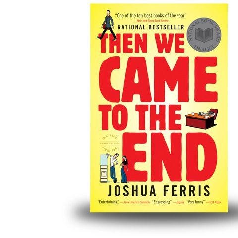 """The we came to the end [Joshua Ferris] - Extract: """"Jim Jackers was hard at work on the pro bono ads and had been working on them steadily for a few hours, since his return from helping Chrtis Yop throw his chair into Lake Michigan. Looking up from the blank page to the blinking clock, he discovered it was only three-fifteen. He decided that today was perhaps the longest day of this life. Not only had he been called an idiot to his face, but he could do nothing to counter that opinion, because he couldn't come up with even a single funny thing to say about breast cancer."""""""
