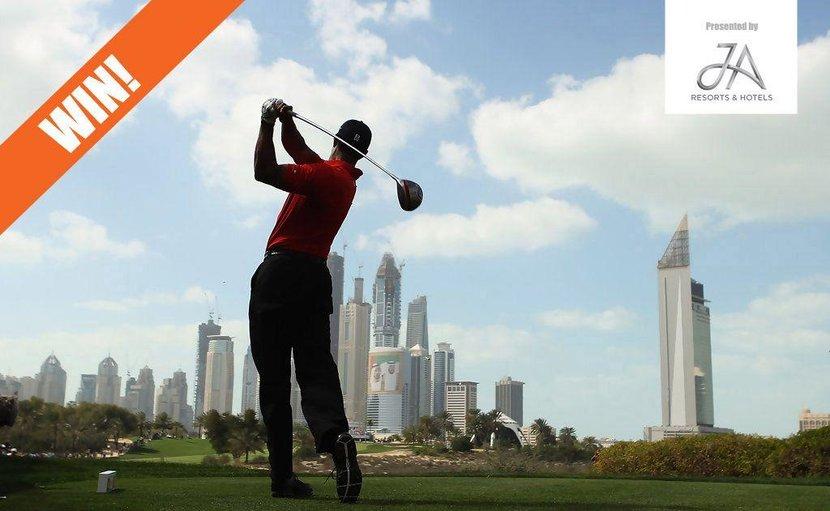 Competition, Dubai Desert Classic, Golf dubai, Emirates Golf Club, Tiger woods, Tickets, Win, Weekend, Dubai, UAE, Golf, JA hotels, Sponsors