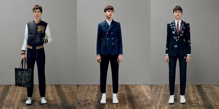 Alexander McQueen, Trends, Theme, Ss17, McQueen, Dubai, Mod, 1960s, Badges, Tailoring, College style