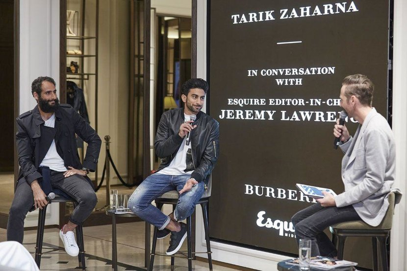 Esquire Gents Evening, Esquire, Esquire Middle East, Burberry, Burberry Middle East, Dubai, Mall of the Emirates, Dubai entrepreneurs, Entrepreneur, Entrepreneurs, Event, In-store event