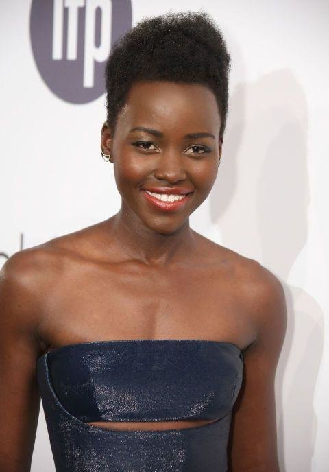 Lupita Nyong'o - For her turn in 12 Years A Slave, Nyong'o won the 2013 Best Supporting Actress Oscar becoming the first African actress to win the award and the first Kenyan actress to win an Oscar of any kind. It also happened to catapult her to the top of every magazine in the world's 'best dressed' and 'most beautiful' lists, where she has remained ever since.