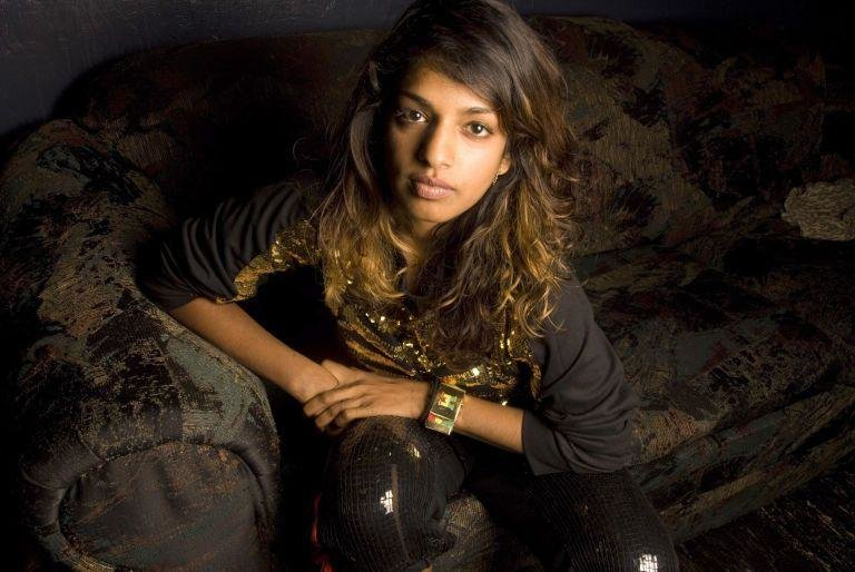 M.I.A -  Mathangi Arulpragasam is a creative polymath: rapper, singer-songwriter, record producer, director, visual artist, activist, photographer and fashion designer. Oh - and a model. Naturally.