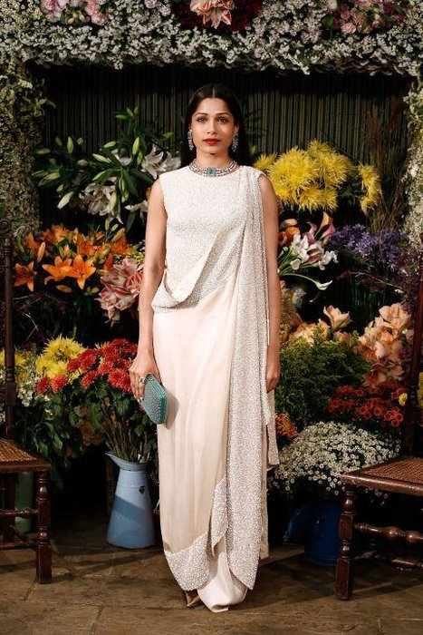 """Freida Pinto - 2008's Oscar-winning Slumdog Millionaire was an over-rated film in all but one aspect: it launched the career of Frieda Pinto. A darling of fashion magazines ever since, she is also considered as arguably India's """"biggest global star""""."""