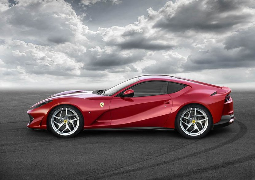 Cars, Ferrari, Ferrari 812 Superfast, V12, New Release, Geneva motor show, Premiere, Powerful, Rosso Settanta, Superfast, 812 superfast