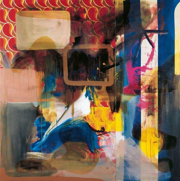 MUSIC: Gastr Del Sol / RECORD: Mirror Repair (1994) / ART: Albert Oehlen / ARTWORK: Painting