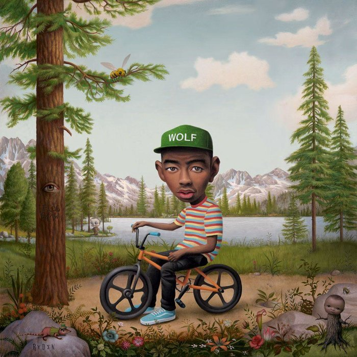 MUSIC: Tyler the Creator / RECORD: Wolf (2014) / ART: Mark Ryden / ARTWORK: Painting