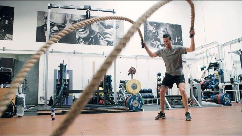 Daniel Ricciardo, Ricciardo, Danny Ricciardo, Red Bull, Red Bull Racing, Formula One, F1, Training, Workout, Melbourne, California, Gym, Running