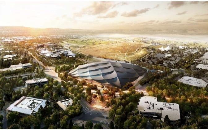 Google, Headquarters, New, Pictures, Mountain view, California, New google, Bond, Bond villian