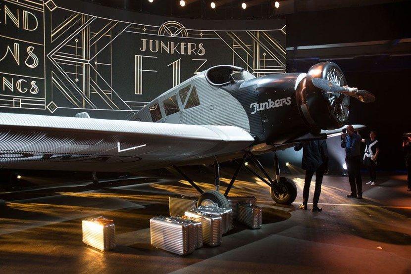 Rimowa, Luggage, Junker, Junker F13, Dieter Morszeck, Germany, German, Luxury, Luxury luggage, Plane, Historic plane, WWII, Morszeck