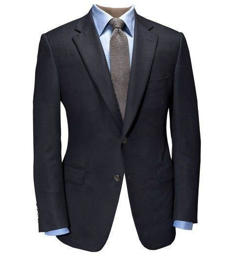 THE NAVY BLAZER IS YOUR FRIEND - The suit and tie may be reserved for board meetings or interviews, but blazers are always welcome. And while there are plenty of great blazer options out there, navy is the classic choice that goes with almost anything. You can stick with something more traditional and structured, or go with an unstructured design for more versatility. Either way, a navy blazer is the ultimate business casual stalwart.  [Navy Doeskin blazer by Paul Stuart, paulstuart.com]