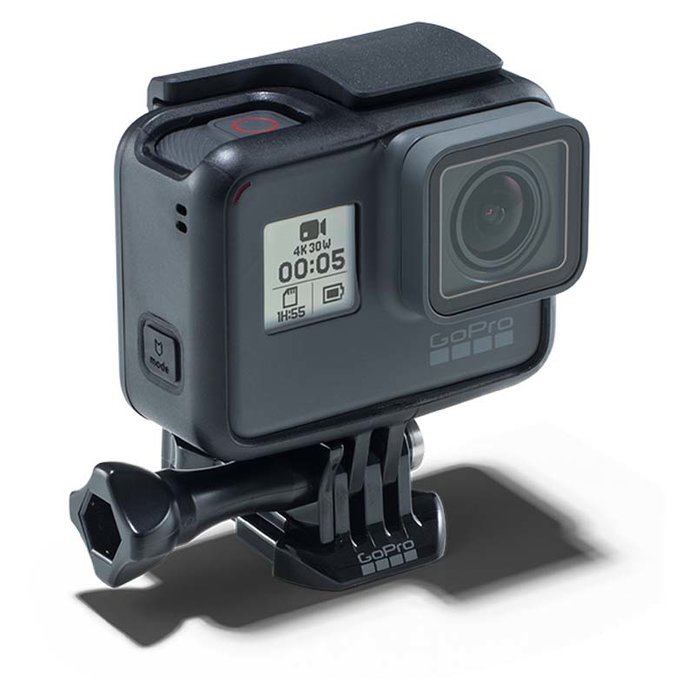 The Camera  -  If your idea of a great workout is anywhere but the gym, why not capture, then share, all of your adventures with the newest GoPro Hero5 Black? As well as possessing hands-free and voice control, this 4K Ultra HD video and 12MP photo GoPro is waterproof to 10m. It also connects to Wi-Fi and GPS.  [Dhs1,566, shop.gopro.com]