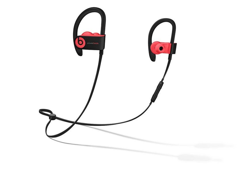 The Headphones  -  Apple's wireless headphones just got an upgrade. Simply charge the Powerbeats3 for five minutes to get an hour of continuous playback — fully charged they'll give you 12 hours. A smarter Bluetooth connection allows you to play music, take calls and interact with Siri, plus the headsets are now sweat- and water-resistant. [Dhs761, apple.com]
