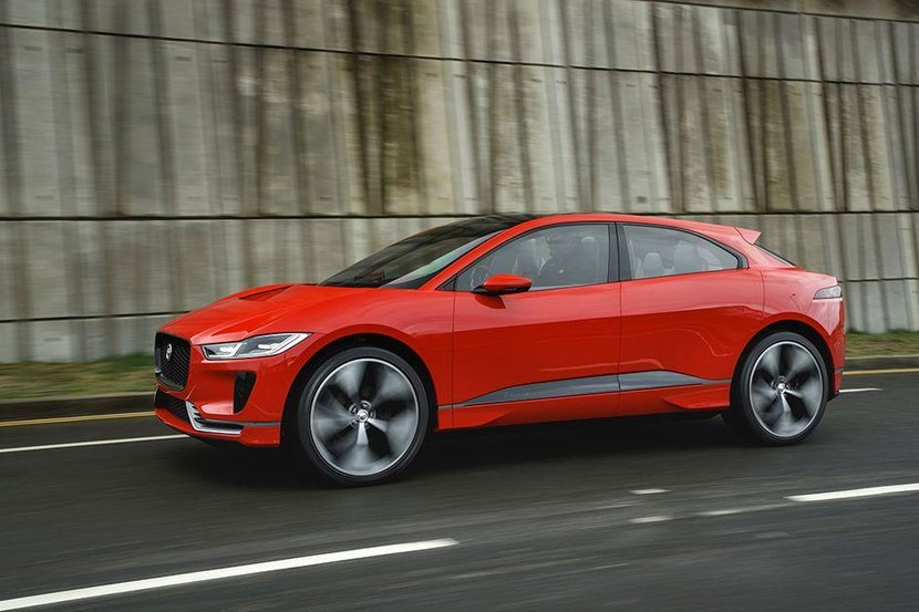 All new, all electric Jaguar I-PACE
