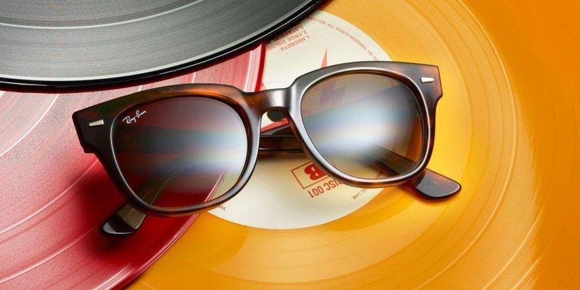 The Meteor Reloaded, Ray-ban, Ray Ban, Limited edition, Cool sunglasses, Sunglasses, Meteor, The Meteor, Shiny Havana, Shiny Striped Havana, Hollywood cool