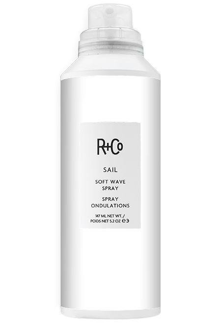 R+CO - Sail Soft Wave Spray - Get beach hair without the beach. Instead, use a few spritzes of R+Co's new wave spray to add some texture to flat hair. randco.com