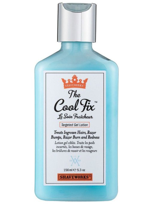 SHAVEWORKS - The Cool Fix - Aftershave locks in a great shave and extends its shelf life. This gel kills bacteria that cause infections and stops ingrown hairs from forming. sephora.com