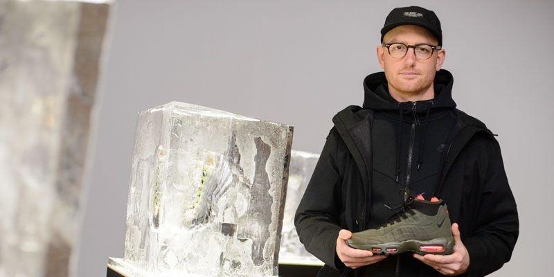 Dylan Raasch, Nike, Nike Sportswear, Design Director, Athleisure, Sportswear, Nike Flyknit, Trainers, Sneakers, Interview, Esquire