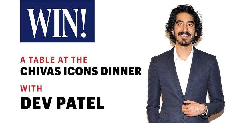 Chivas icons, Chivas icon, Dubai, Dev Patel, Dev Patel Dubai, Chivas Regal, Chivas dinner, Play, H Hotel, Win the right way, Competition, Win tickets, Esquire, Esquire Middle East, #LionHeart