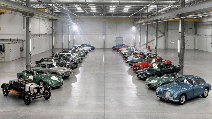 St Athan, South Wales, Aston Martin, Vulcan, A3, DBR1, The One-77, Vantage, Rapide, Rapide S, DB5, DB9, Aston Martin Racing World Endurance Championship, WEC, Matt Becker, Darren Turner, Nicki Thiim, Andy Palmer