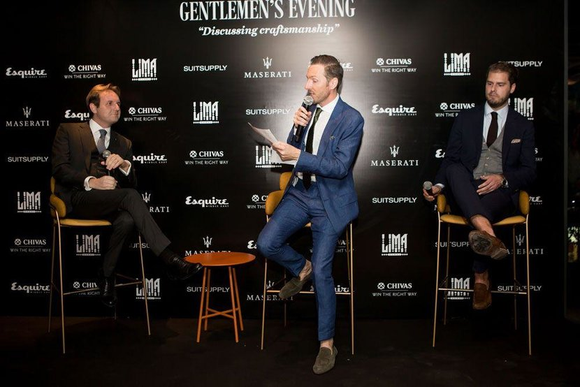 Esquire Editor Jeremy Lawrence leads the discussion panel