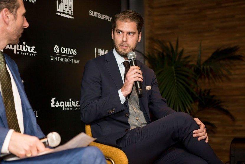 Panelist Alex Sundler from Suit Supply