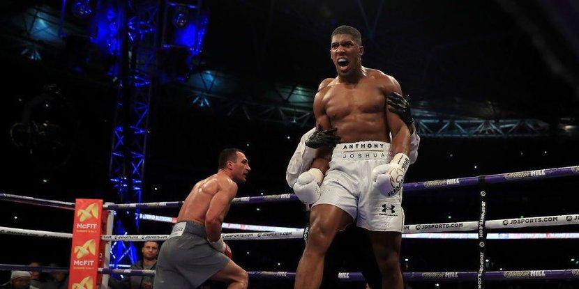 Anthony Joshua, Wladimir Klitschko, Boxing, Boxer, Joshua