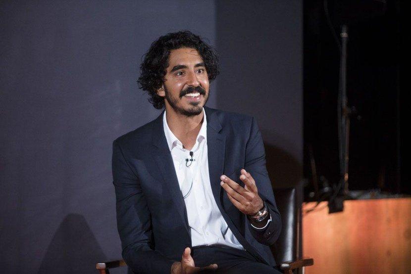 Dev Patel onstage