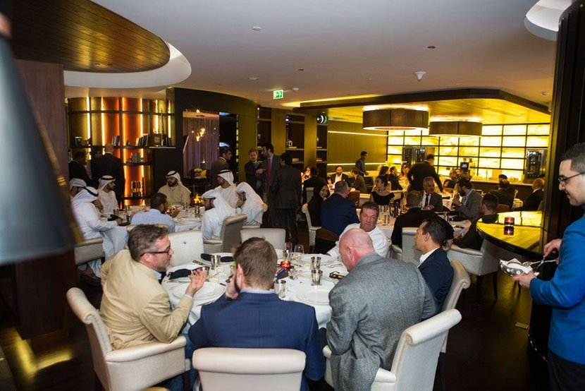 Esquire Gent's Evening, Esquire Middle East, Esquire evening, Discussing horology, Rosewood Hotel, Abu dhabi, Esquire Watch Dinner, Watch dinner, Watches, Timepieces, The Galleria, The galleria mall, The Galleria on Al Maryah Island, Rivoli, Rivoli group, Jaquet Droz, Chivas Regal, Dinner, Arab Watch Club