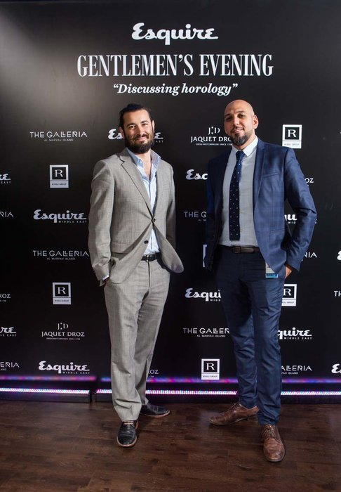 Esquire's Matthew Priest and Feras Salah