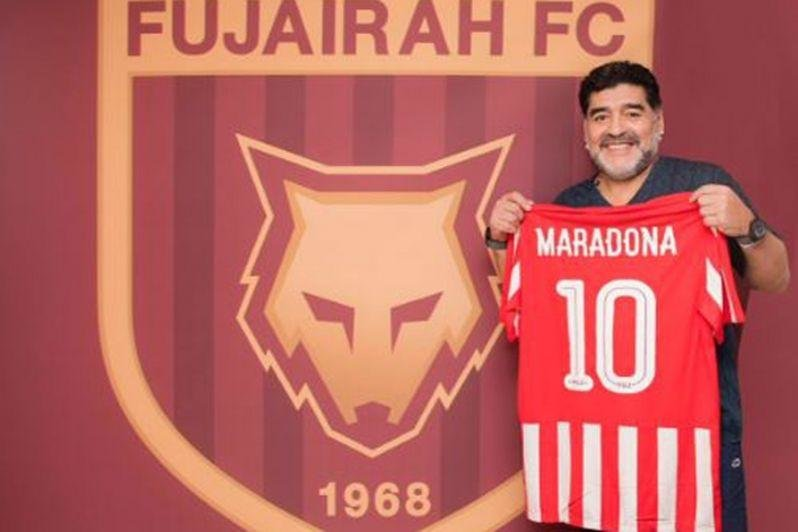 Diego maradona, Al Fujairah FC, UAE, Football, Coach, New coach, Manager, Head coach, Maradona, Dubai
