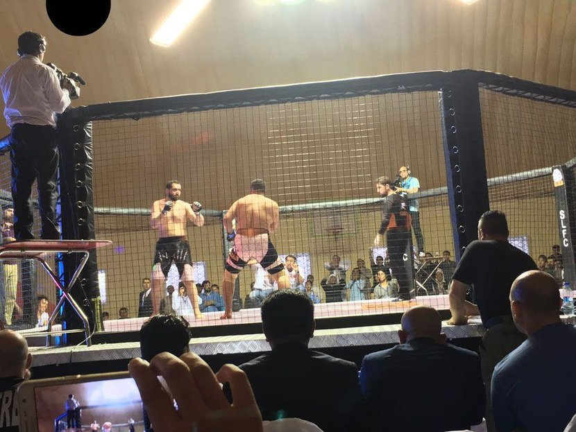 Kabul, MMA, Cage fighting, Sport, Afghanistan, Soliders, UFC, Fighting, SLFC, Tournament, MMA tournament, Pakistan, Snow Leopard Fighting Championship, Afghanistan MMA