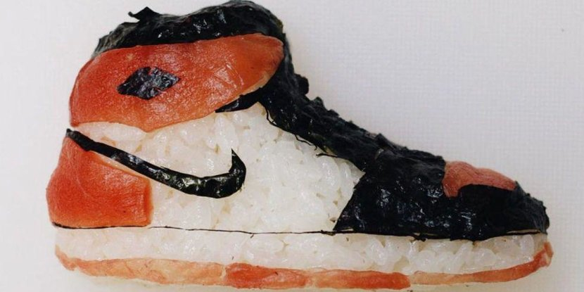 Sushi artist, Sushi, Sneakers, Sushi sneakers, Shoe-shi, Artist, Art work, Instagram