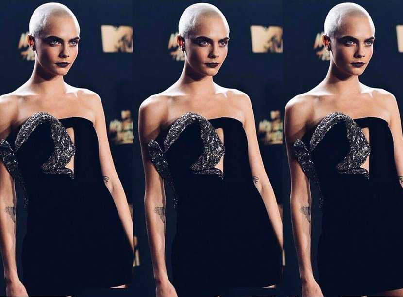 Shaved head, Women, Actress, Musicians, Models, Cara Delevigne, Shaved