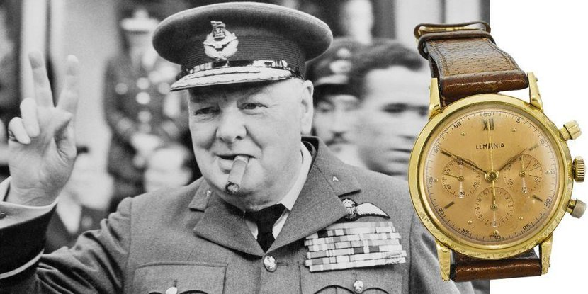 Winston Churchill, Churchill, Sotheby's, Auction, Lemania, Watch, Timepiece, Iconic watches, Iconic