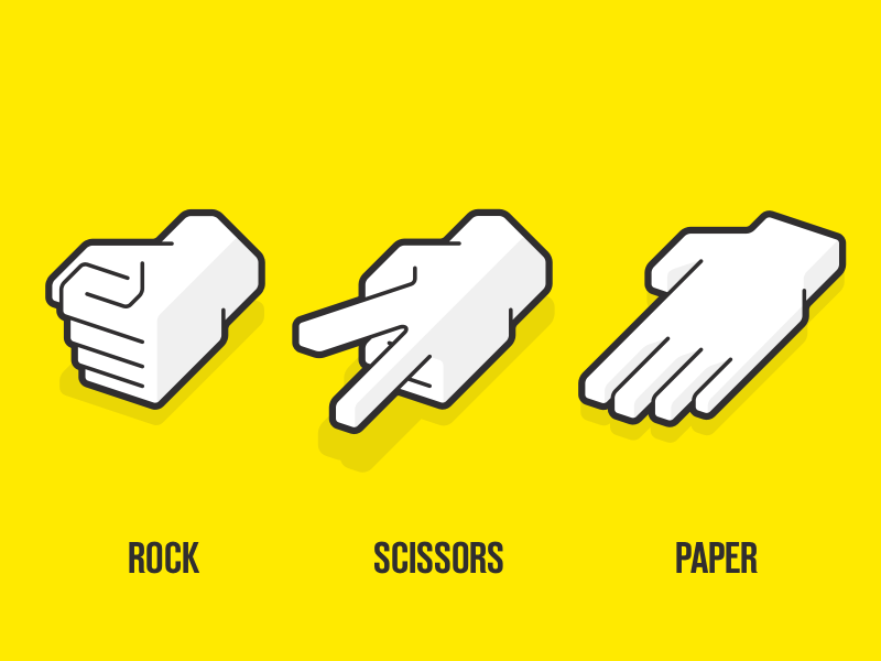 Rock, Paper & Scissors, Paper and Scissors, How to win, Life skills, Tactics, Strategy