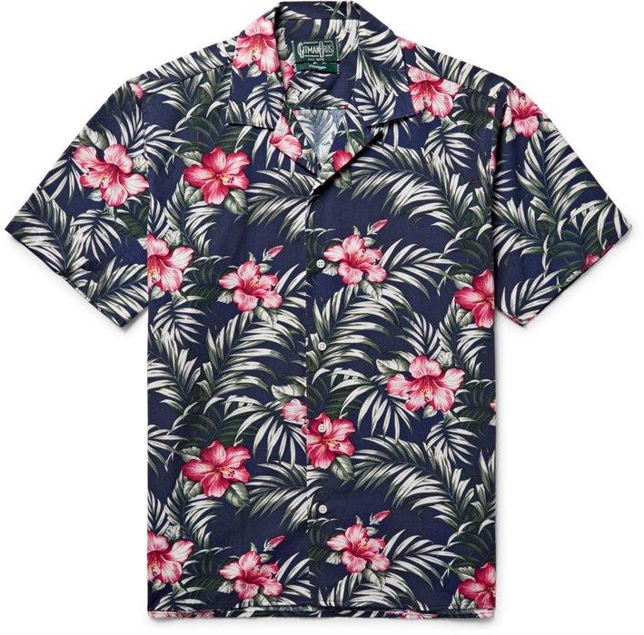Gitman Vintage x Mr Porter shirt